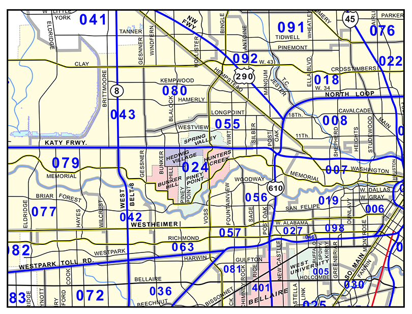 Greater Houston Area Zip Code Map.Mason Maps Custom Mapping Solutions For Your Business Zip Code