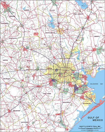 City Of Houston Corporate Limits Map